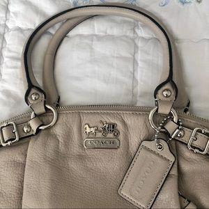 COACH top handle handbag with crossbody strap